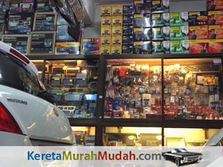 Kedai Aksesori Kereta Murah KL Melaka Bangi Shah Alam Ipoh Gombak Seremban